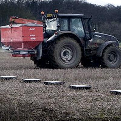 Fertilizer Tray Testing